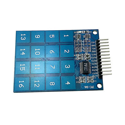 TTP229 16 Channel 16 Way Digital Capacitive Switch Touch Sensor Module