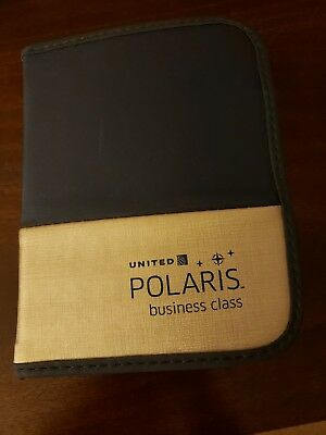 UNITED AIRLINES POLARIS BUSINESS CLASS Amenity Kit - NEW