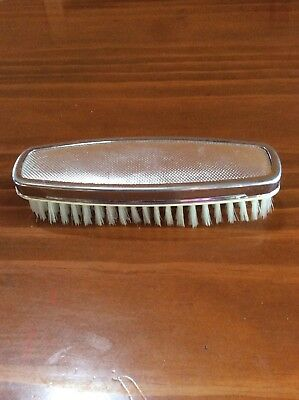 Lovely Vintage Engine Turned Clothes Brush