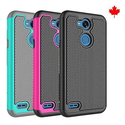 Fits LG X Power 3 Case Rugged Impact Hybrid Dual Layer Shockproof Hard Cover
