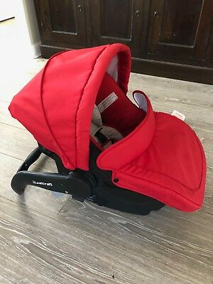 Britax Steelcraft infant carrier/baby car capsule Red