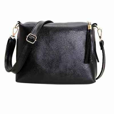 New Fashion Tassel Decorated PU Leather Shoulder Cross-body Bag For Women