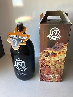 Vintage Darwin Stubby - 2 Litres NT Draught - Complete Box -  Sealed FREE POST