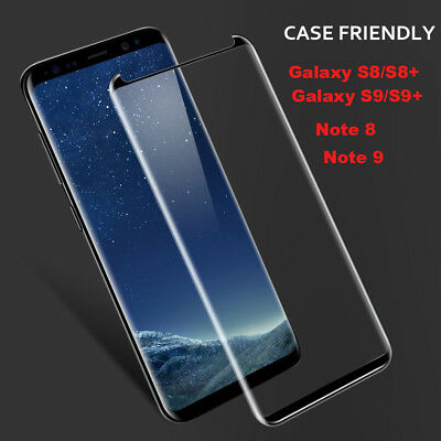 Full glue Tempered Glass Screen Protector For Samsung Galaxy Note 8/9 S9/S8/Plus
