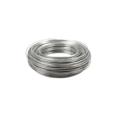 Aluminium Wire, thickness 1,5 mm, silver, round, 100m