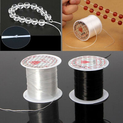 10M Strong Clear Elastic Beading Cord Thread DIY Jewelry Bracelet Stretch String