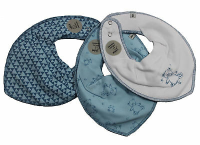 Pippi 3er Pack Halstuch mit Teddy im 3er-Set (4711) light dusty blue