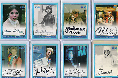 Dr Doctor Who - Autograph & Costume Relic Card Selection NM Strictly Ink