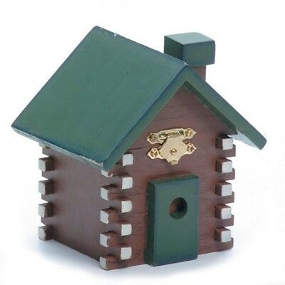 Wooden Cabin 4.25 Inches