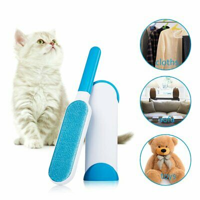 3Pcs Fur Lint Remover Brush Wizard Reusable Self Cleaning Pet Dog Hair Remove
