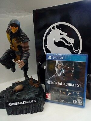 Mortal Kombat X - Collector's Limited Edition  PS4  NUOVA E ORIGINALE