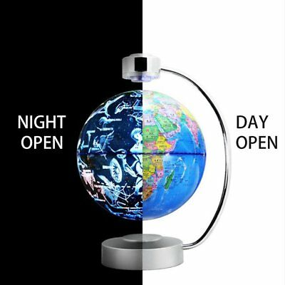 8 Inch Magnetic Levitation Globe With LED Light Electronic Floating Globe AZ
