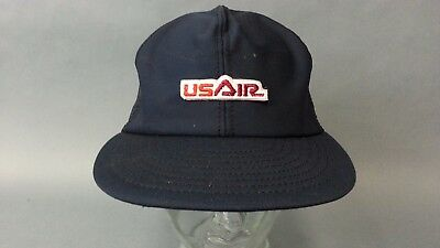 Vintage Us Air Airways Airline Airplane Snapback Retro Trucker Hat