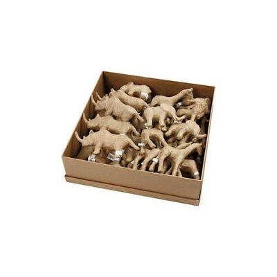 Savannah Animals, H: 7,5-10 cm, 32pcs [HOB-99382]