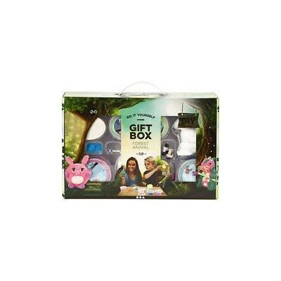 Creative Giftbox, Forest animals with Clay, 1set [HOB-98117]