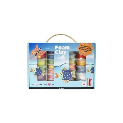 Foam Clay® Set, asstd colours, 1set [HOB-98112]