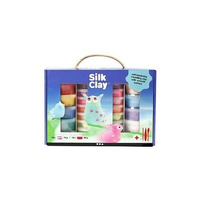Silk Clay® Set, asstd colours, 1set [HOB-98110]