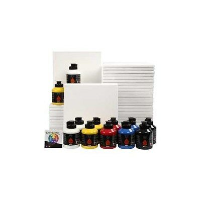 Art School, primary colours, class set, 1set [HOB-97770]