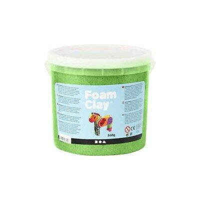 Foam Clay®, green, metallic, 560g [HOB-78879]