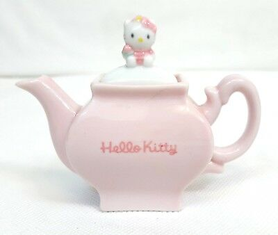 RARE Vtg 1997 Sanrio HELLO KITTY Chinese Series MINI TEAPOT Porcelain Japan NEW