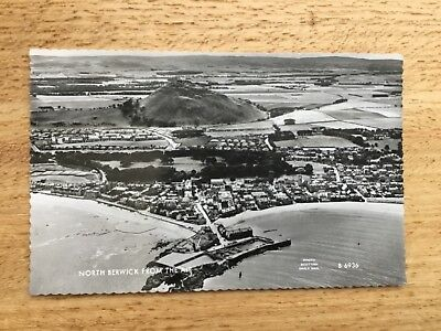 Real Photograph Postcard - North Berwick From The Air