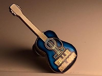 Willie Nelson guitar pin