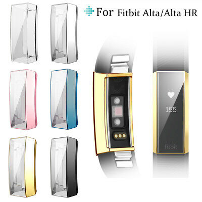 Ultra-thin Soft TPU Screen protector Clear Case Cover For Fitbit Alta / Alta HR