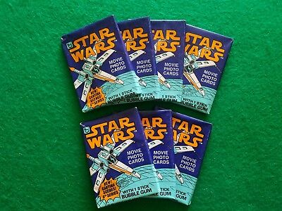 1978 Topps Star Wars Unopened x1Wax Pack  Movie Photo Cards Series 5 NEW & Clean