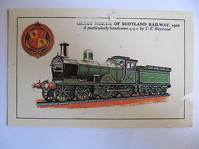 Great North of Scotland Railway GNSR (4-4-0) 1920 - Postcard