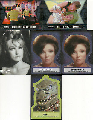 Star Trek TOS - Lot of 7 Chase Cards EXC Rittenhouse