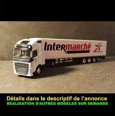 Camion Miniature Grande Distribution Intermarché 1 87 Ho Eur 15 00