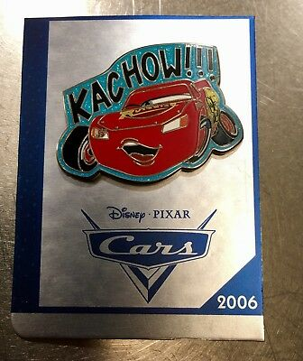 Disney Store DS 30th Anniversary Cars KACHOW Lightning McQueen Pin Pixar DLR NEW