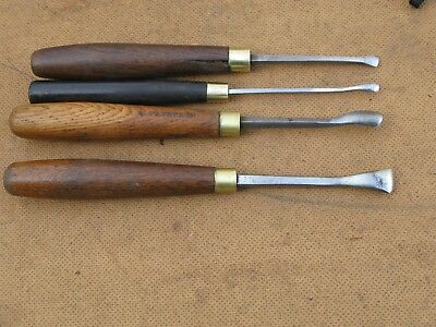 W.MARPLES & SONS 4 Wood Carving Chisels
