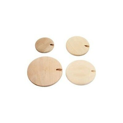 Wood Button pearl, D: 20-35 mm, china berry, 320pcs [HOB-56682]