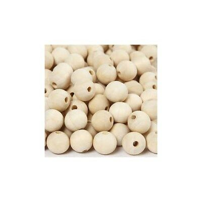 Wooden Bead, D: 15 mm, hole size 3 mm, china berry, 500pcs [HOB-56667]