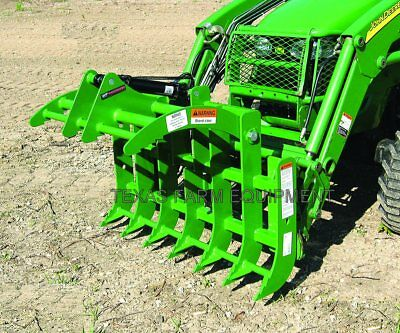 """48"""" Root Grapple, John Deere Sub-Compacts-Ships Free to TX & Surrounding States!"""