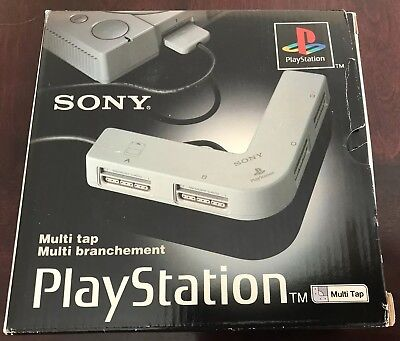Sony Playstation 1 PS1 Video Game Multi Tap Controller Adapter SCPH-1070