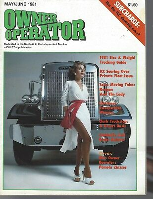 Magazine - Owner Operator May/June 1981, Freightliner, Mack cabover, GMC Astro
