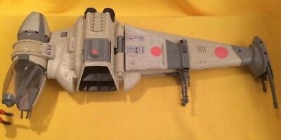 Starwars B-Wing Fighter (Kenner) - ROTJ with B-Wing pilot (both loose)