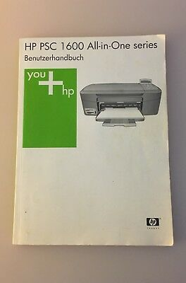 HP PSC 1600 All In One Series Benutzerhandbuch