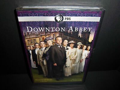 Downton Abbey: Season 1 3-Disc 2011 DVD Set - Brand New & Sealed!!
