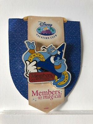 Disney Pin 31948 WDW - Members Are Magical 2004 DVC Genie Sorcerer Hat LE 5000
