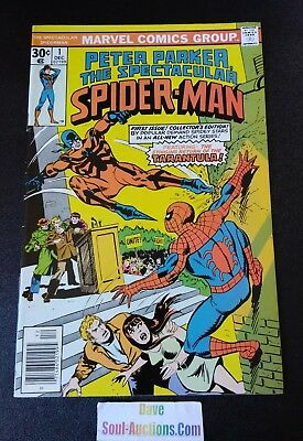 Peter Parker The Spectacular Spider-Man #1 1976 - Very Nice !!!