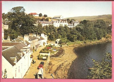 The Seafront, Portree, Isle of Skye, Scotland postcard. J. Arthur Dixon.