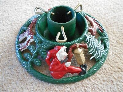 Vintage cast iron Christmas Tree Stand NOS
