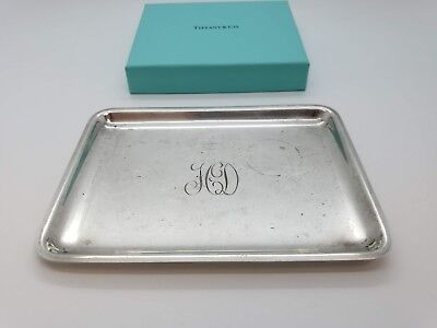 Tiffany & Co Sterling Silver 925 Small Dish Platter Tray