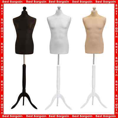 New Student Dressmaker | Male Tailors Dummy | Display Bust | Mannequin