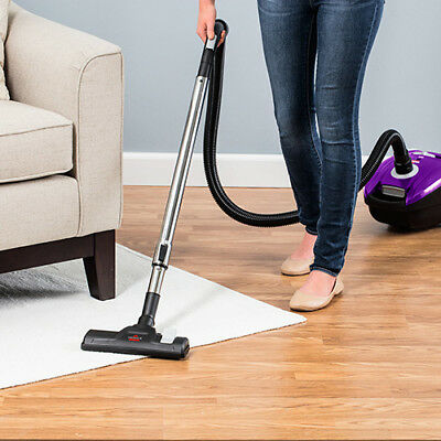 Bissell Canister Upright Bagged  Vacuum makes any cleaning task seem effortless
