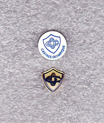2 NEW Pin's RUGBY PRO TOP 14 CASTRES OLYMPIQUE - CO - TARN 81