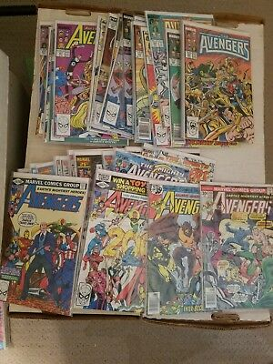 Avengers Comic Book Lot Of 158 Comics, Huge Run, Most in NM Condition